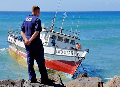 The Coast Guard will issue you a citation if you fail to follow these regulations.